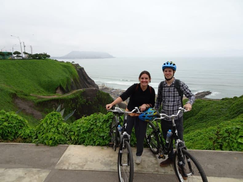 tour en bicicleta en Miraflores