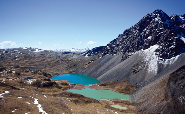 Best Treks Peru - Ausangate Mountains and lake