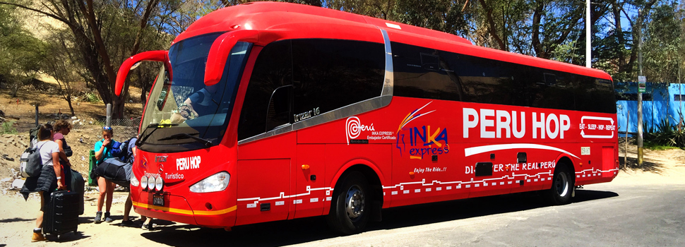 Safe Buses across Peru - Why Hop with us?!