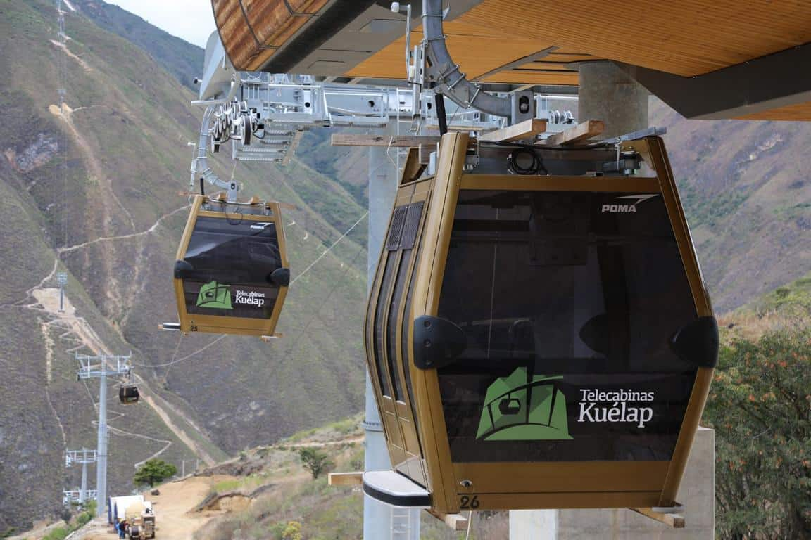 New Cable Cars Kuelap