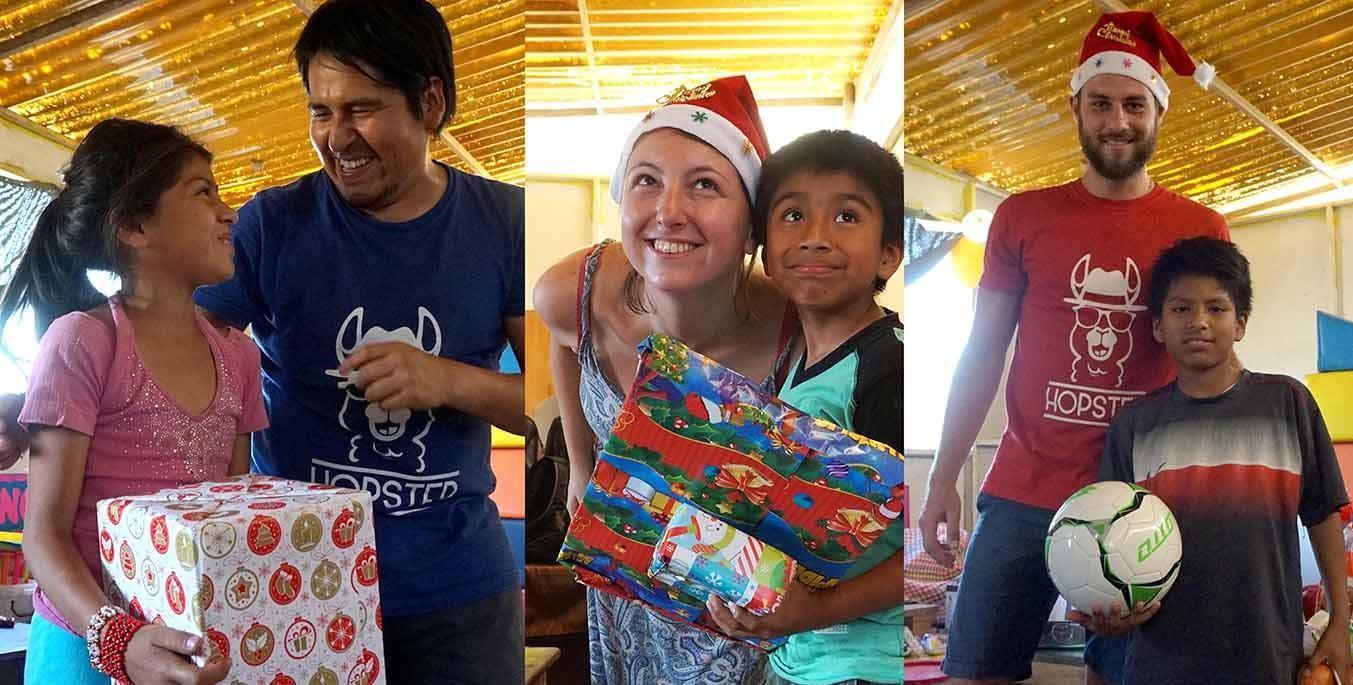 Santa Peru Hop Christmas Charity