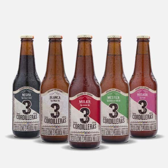 Cordilleras Beer Colombia - South American Beers 2020