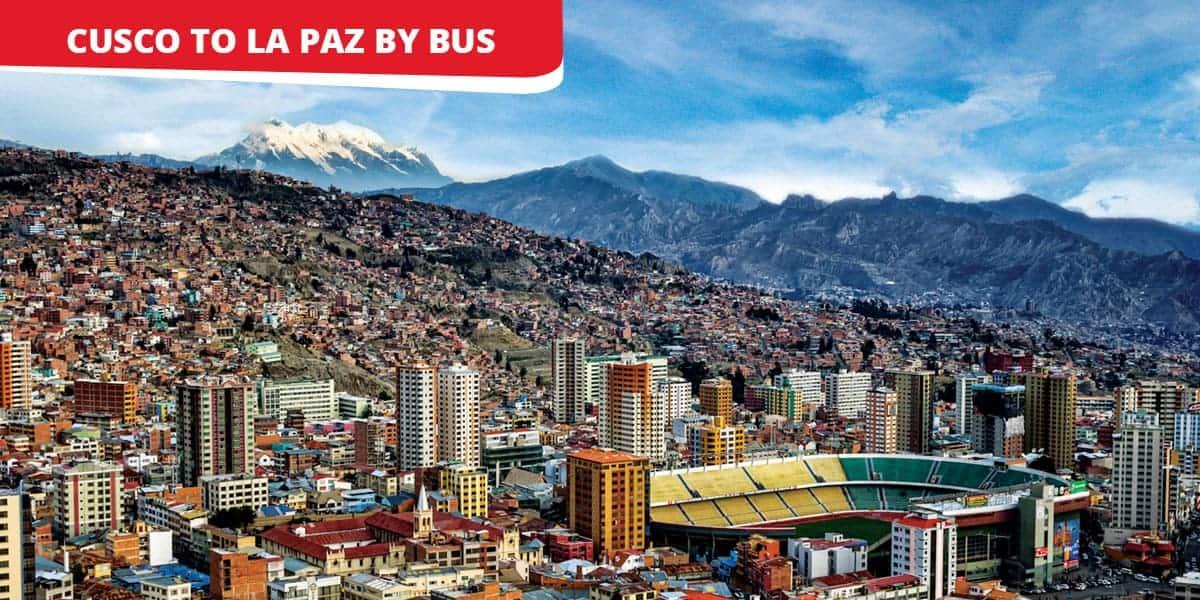 cusco to la paz by bus