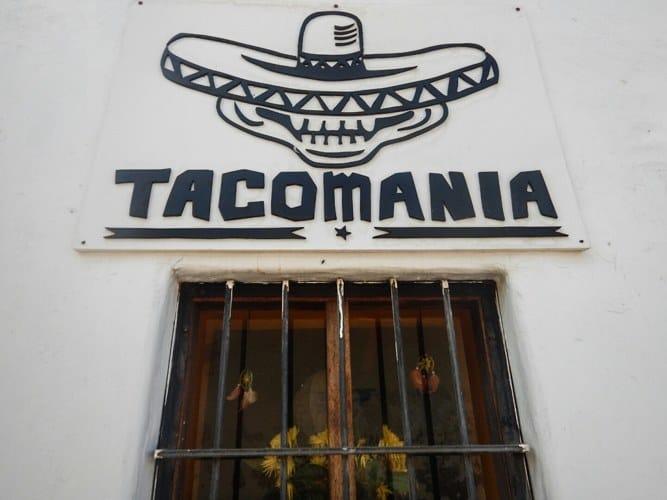 Tacomania food in cusco