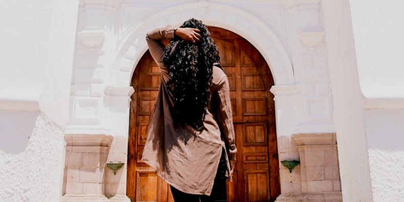 solo woman traveler in arequipa