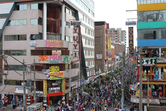 Gamarra - Top 5 Markets in Lima