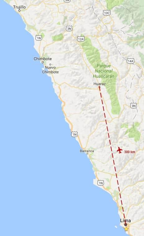 laguna 69 en Huaraz - como llegar