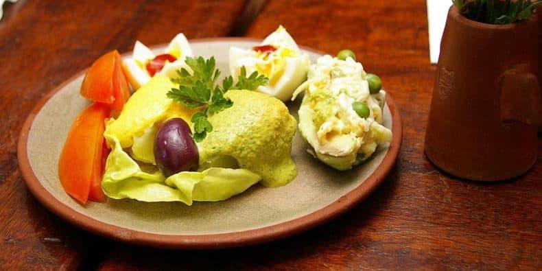 ocopa, cuisine of arequipa