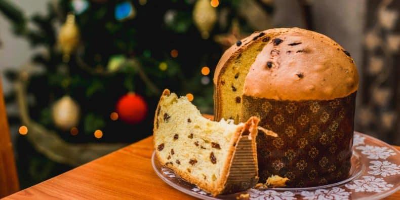 Christmas paneton