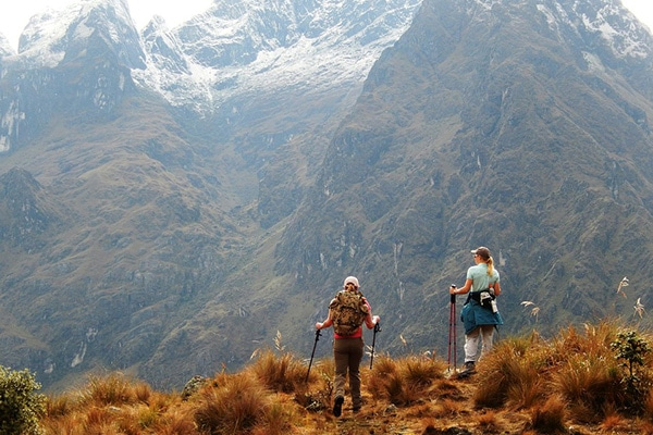 mountains of the inca trail