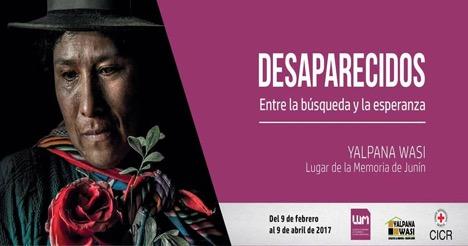 Lum event poster Desaparecidos