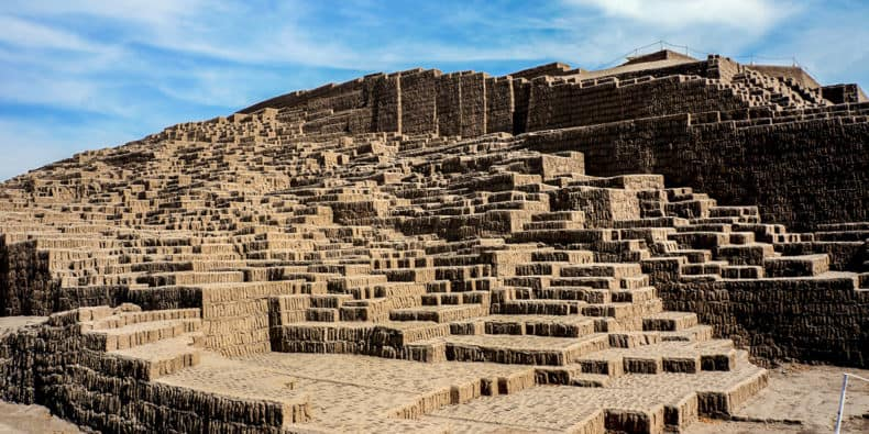 temple of huaca Pucllana