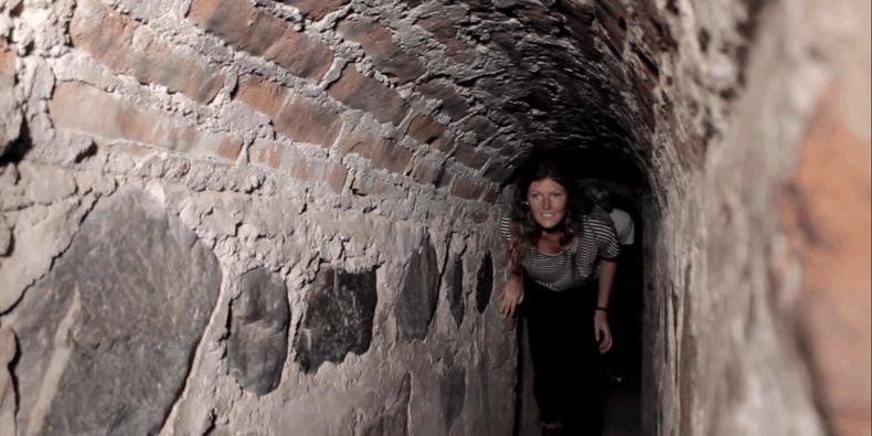 túnel secreto dos escravos - lugares para visitar no peru