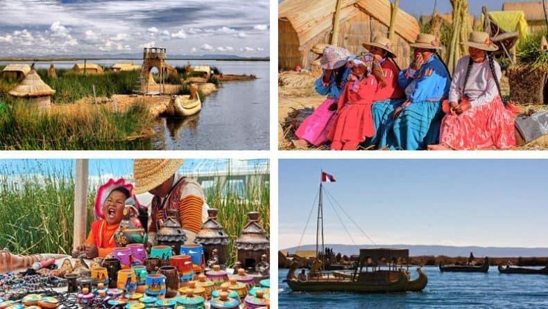fotos do passeio de meio dia no lago titicaca