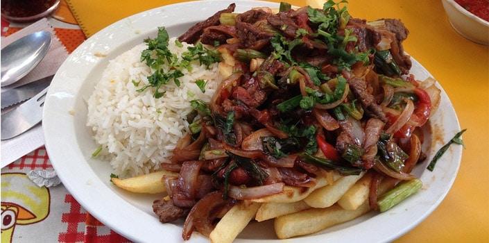 Dicas Top - menu peruanos