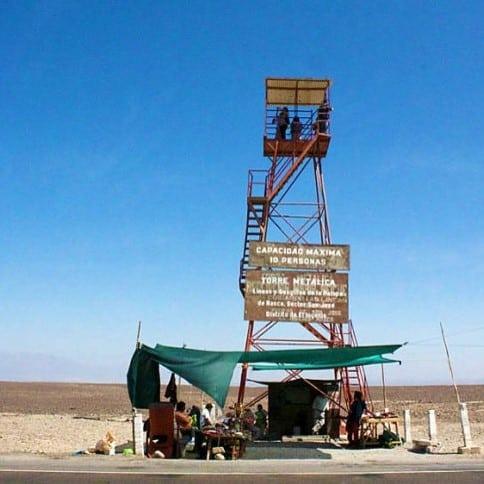 Torre Mirador a las Líneas de Nazca