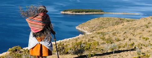 View Lake Titicaca
