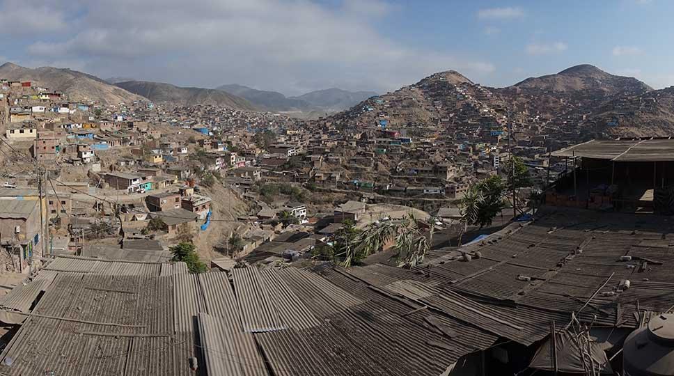View of Villa Maria - Peru Hop Charity
