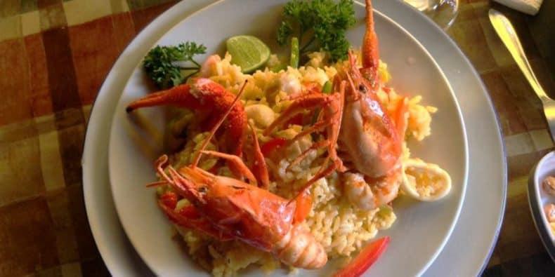 peixe freco do Costa Azul melhores restaurantes de lima