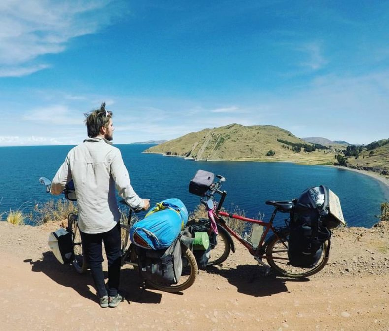 lake titicaca in puno , travelling south america