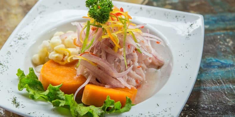 dish of cebviche