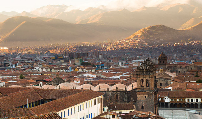 Inti Raymi History - Scenic view of Cusco