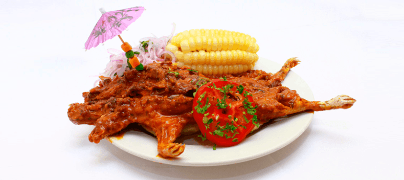 Peruvian dishes- cuy