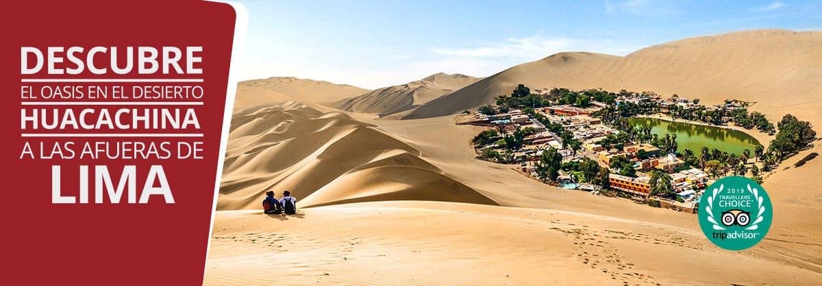lugares para conocer en Lima - Huacachina
