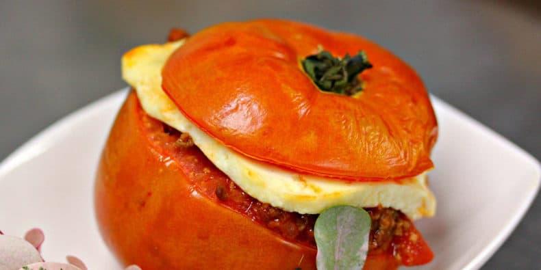 Comida Típica Peruana - Rocoto relleno