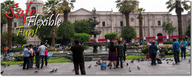 Peru Hop - City Guide: Arequipa