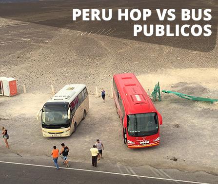Peru Hop vs Buses Públicos