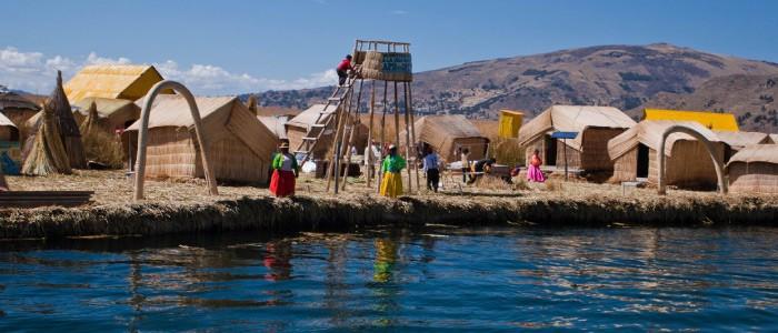 lago titicaca meio dia