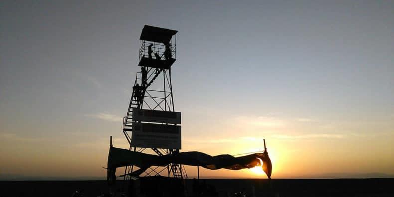 torre del mirador de las lineas de nazca