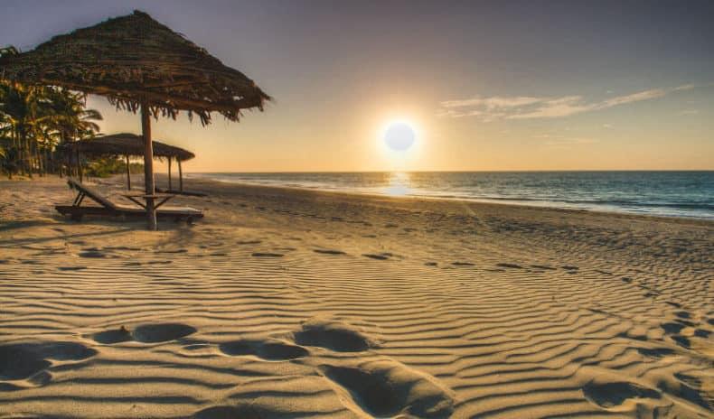 playa en máncora
