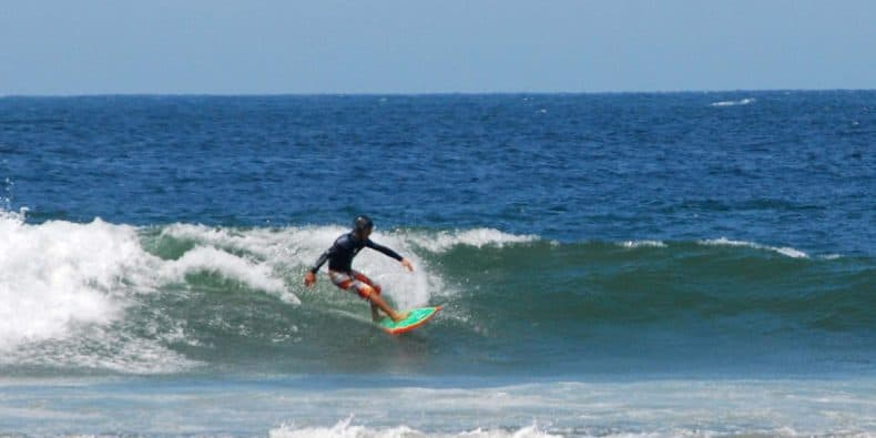 surf em máncora