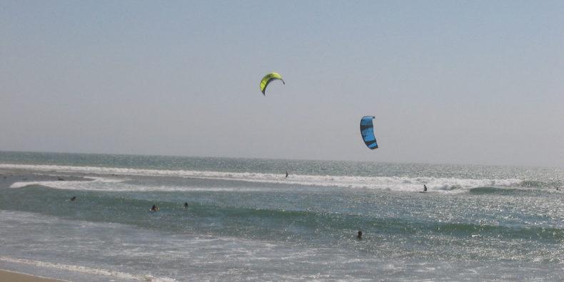 kitesurfing em máncora