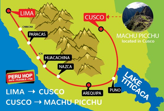 Huancayo Peru Map.Getting From Lima To Machu Picchu 2019 Updated Peru Hop
