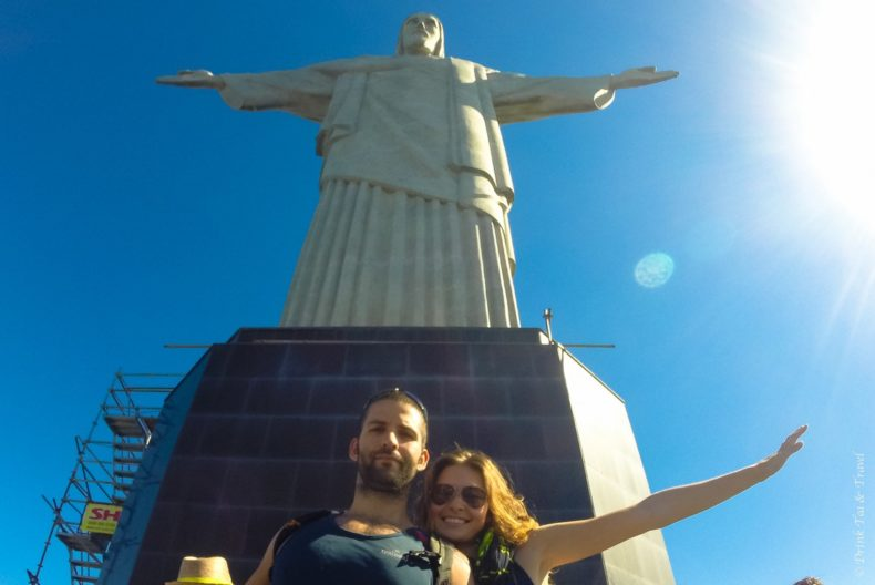 Christ the redeemer in Brazil, South America
