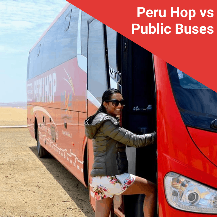 Peru Hop vs Public Bus