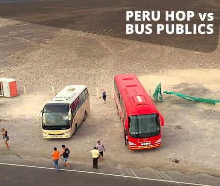 Peru Hop vs Public Bus