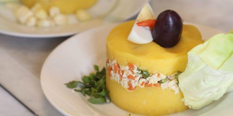 causa limeña - pratos típicos do Peru