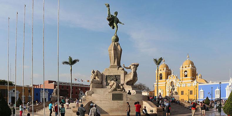 main square trujillo