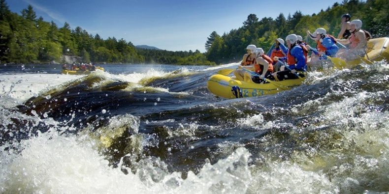 rafting tour in a couple