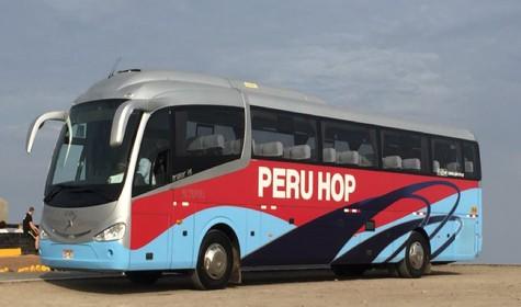 Budget Backpacking Peru – Peru Hop bus