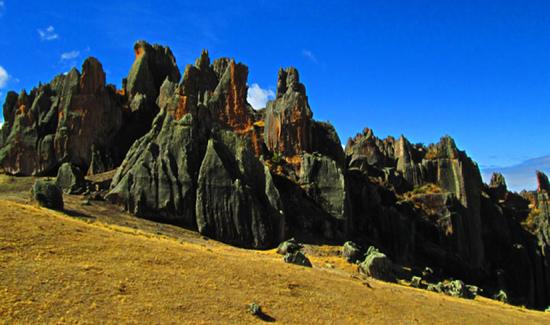 Rock Climbing in Peru - Hatun Machay