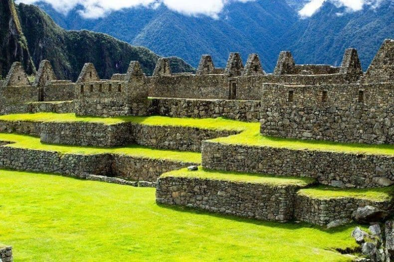 Machu Picchu Stones Construction by Amazing Builders