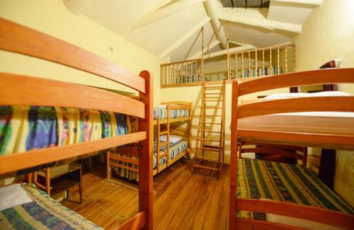 Fighting Altitude Sickness - Hostel room