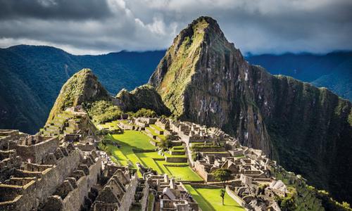 Fighting Altitude Sickness - Machu Picchu