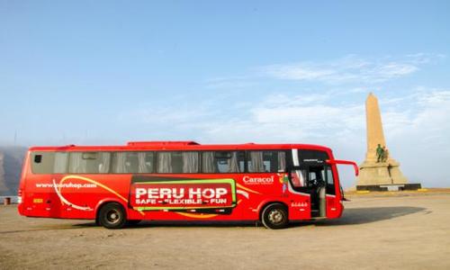 Fighting Altitude Sickness - Peru Hop bus