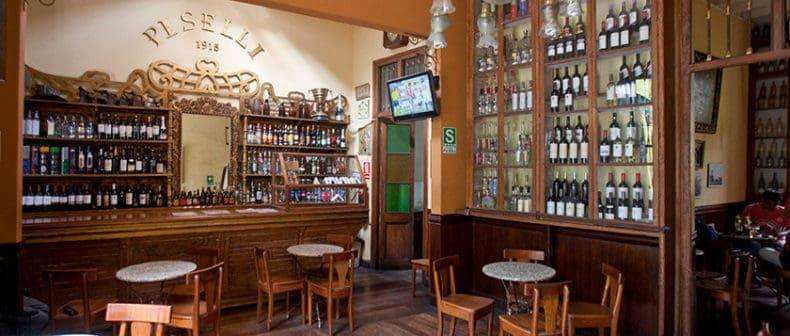 Bodega Piselli bar